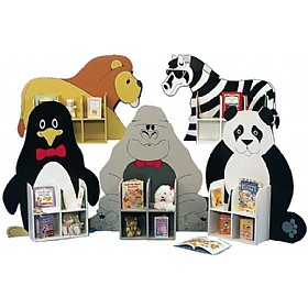 Novelty Single Sided Animal Book Browsers £0 - Education Furniture