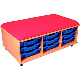 Mobile Seat & Tray Storage Units £0 - Education Furniture