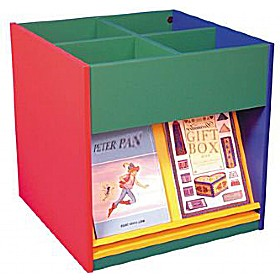 Mobile Kinder Box with Display Shelves £0 - Education Furniture