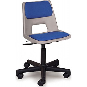 Scholar Mobile Padded Polypropylene Chair (Optional Glides) £0 - Education Furniture