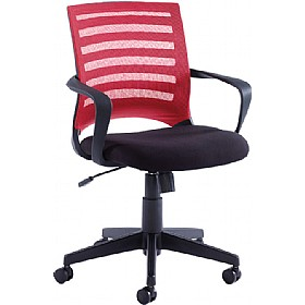 NEXT DAY Novita Mesh Back Operator Chair £111 - Office Chairs