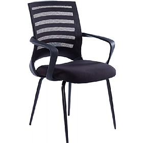 NEXT DAY Novita Mesh Back Visitors Chair £118 - Office Chairs