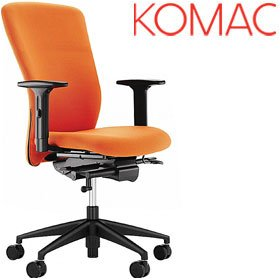 Komac Move High Back Task Chair £197 - Office Chairs