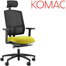 Komac Felix Mesh Task Chair With Headrest £295 - Office Chairs