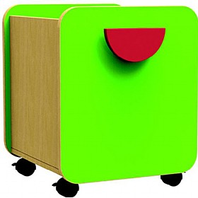 Funky Single Pull-Out Storage Box £0 - Education Furniture