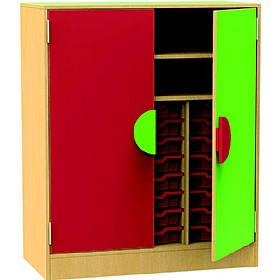 Funky Storage Cupboard With Trays & Shelves £0 - Education Furniture