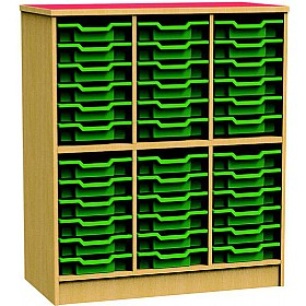 Funky Tall Tray Storage Unit £402 - Education Furniture