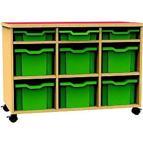 Funky Multi Tray Mobile Storage Unit £277 - Education Furniture