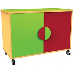Funky Mobile Cupboards £0 - Education Furniture