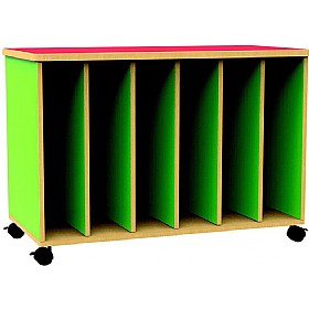 Funky Mobile Big Book Display Unit £0 - Education Furniture