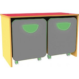 Funky Low Double Docking Unit £157 - Education Furniture