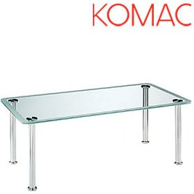 Komac Vox Rectangular Glass Coffee Table £493 - Reception Furniture