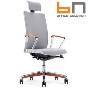 BN Mojito Premium Leather Executive Chair With Headrest £565 - Office Chairs