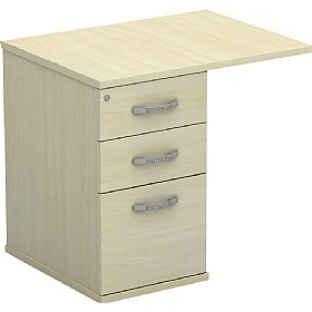 Accolade Rectangular Extension Pedestals £261 - Office Desks