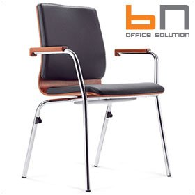 BN Mojito Leather Conference Chair £206 - Office Chairs