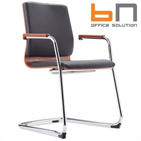 BN Mojito Leather Cantilever Conference Chair £248 - Office Chairs