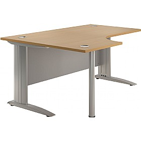 NEXT DAY Force Cantilever Ergonomic Desks £255 - Next Day Office Furniture