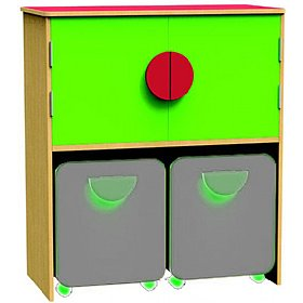 Funky Cupboard Docking Unit £349 - Education Furniture