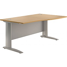 NEXT DAY Force Cantilever Wave Desks £219 - Next Day Office Furniture