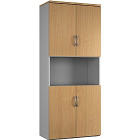 NEXT DAY Force Twin Double Door Combination Cupboards £296 - Next Day Office Furniture