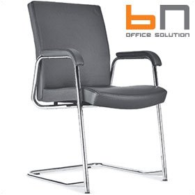 BN Diplomat Luxury Leather Cantilever Conference Chair £284 - Office Chairs