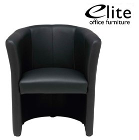 Elite Nero One Seater Tub Chair £344 - Reception Furniture