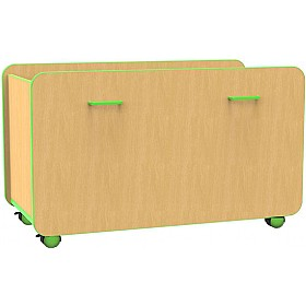 Edge Double Pull Out Boxes £199 - Education Furniture