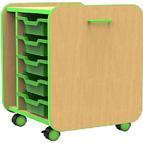 Edge Pull Out Boxes With Trays £149 - Education Furniture