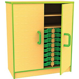 Edge Tray & Storage Cupboards £476 - Education Furniture