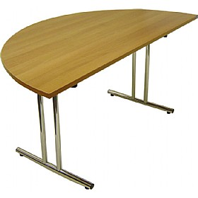 NEXT DAY Semi Circular Folding Table £213 - Meeting Room Furniture