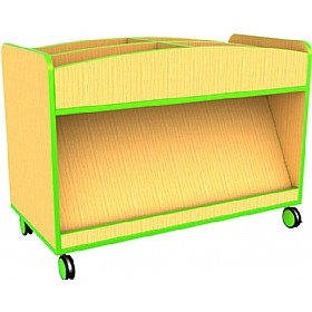 Edge Mobile Book Display £216 - Education Furniture