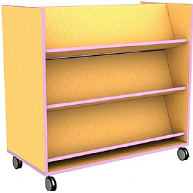 Edge Double Sided Bookcase £0 - Education Furniture