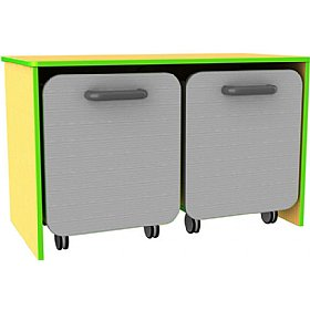 Edge Low Double Docking Unit £117 - Education Furniture