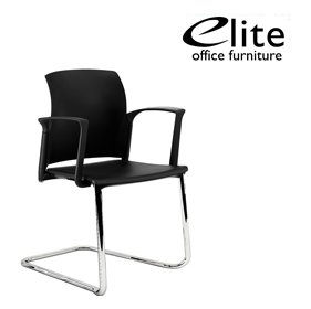 Elite Leola Polypropylene Cantilever Stacking Chair £148 - Office Chairs