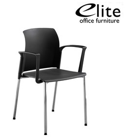 Elite Leola Polypropylene 4 Leg Stacking Chair £111 - Office Chairs