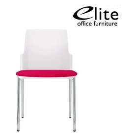 Elite Leola 4 Leg Stacking Chair £132 - Office Chairs