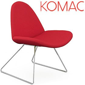 Komac Page Skid Base Chairs £271 - Office Chairs