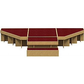 Arena Full Stage Module 1 £0 - Education Furniture