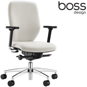 Boss Design Lily Office Chair LIL/2 £184 - Office Chairs