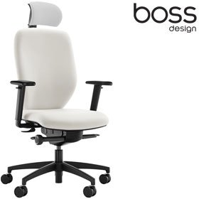 Boss Design Lily Office Chair With Headrest LIL/2 £228 - Office Chairs