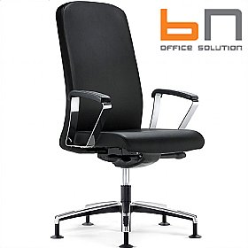 BN Belive Leather Swivel Conference Chair £393 - Office Chairs
