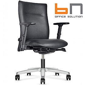 BN Kubik Leather Executive Chair £298 - Office Chairs