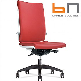 BN Belite Leather High Back Executive Chair £279 - Office Chairs