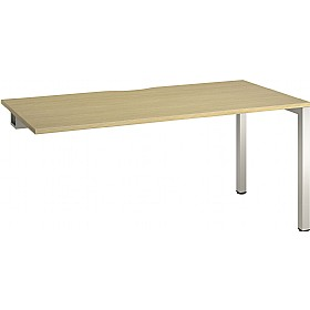 Aspect Single Rectangular Add On Desks £224 - Office Desks
