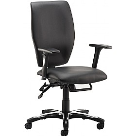 Mendel Enviro Leather Task Chair £152 - Office Chairs