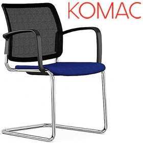 Komac Q Mesh Visitor Chair £177 - Office Chairs