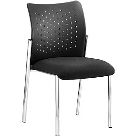 Messi Stackable Visitor Chair No Arms £103 - Office Chairs