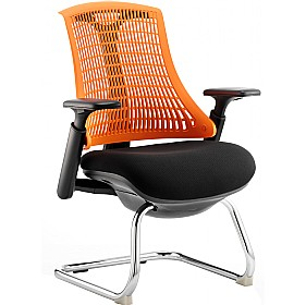 Flash Cantilever Visitor Chair £180 - Office Chairs