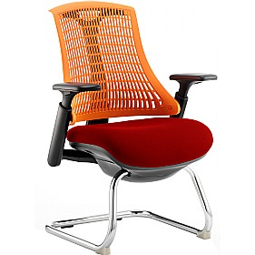 Flash Colours Cantilever Visitor Chair £197 - Office Chairs