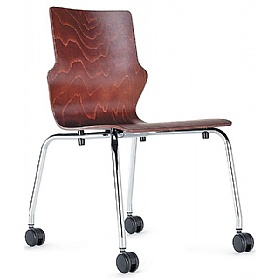 BN Mobile Wooden Conversa Chair £94 - Office Chairs